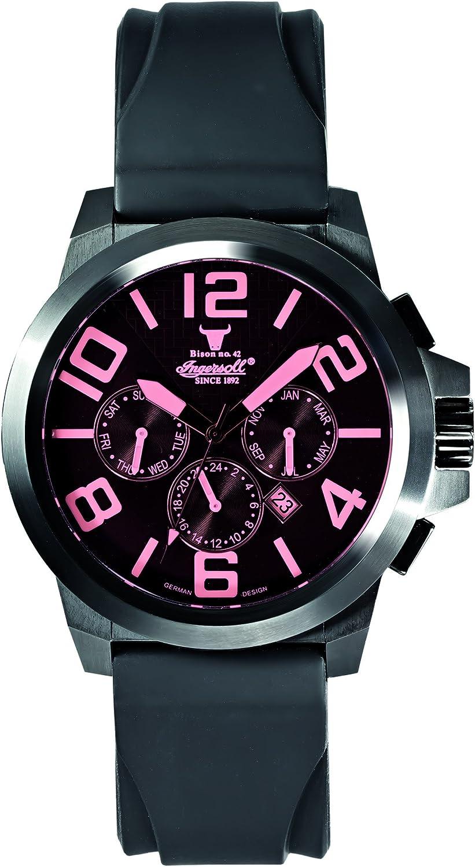 Ingersoll Men s IN4107BBPU Bison No. 42 Fine Automatic Timepiece Purple Crystal Watch