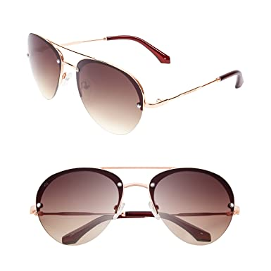 "be8f111df61c6 PRIVÉ REVAUX ""The Warrior"" Handcrafted Designer Aviator Sunglasses For Men    Women"