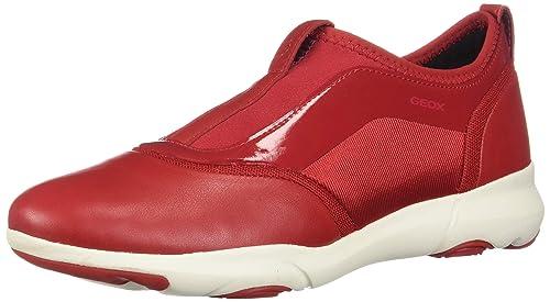 toller Rabatt für Outlet Store Verkauf weltweite Auswahl an Geox D Nebula S Womens Nappa Leather Slip On Sneakers ...