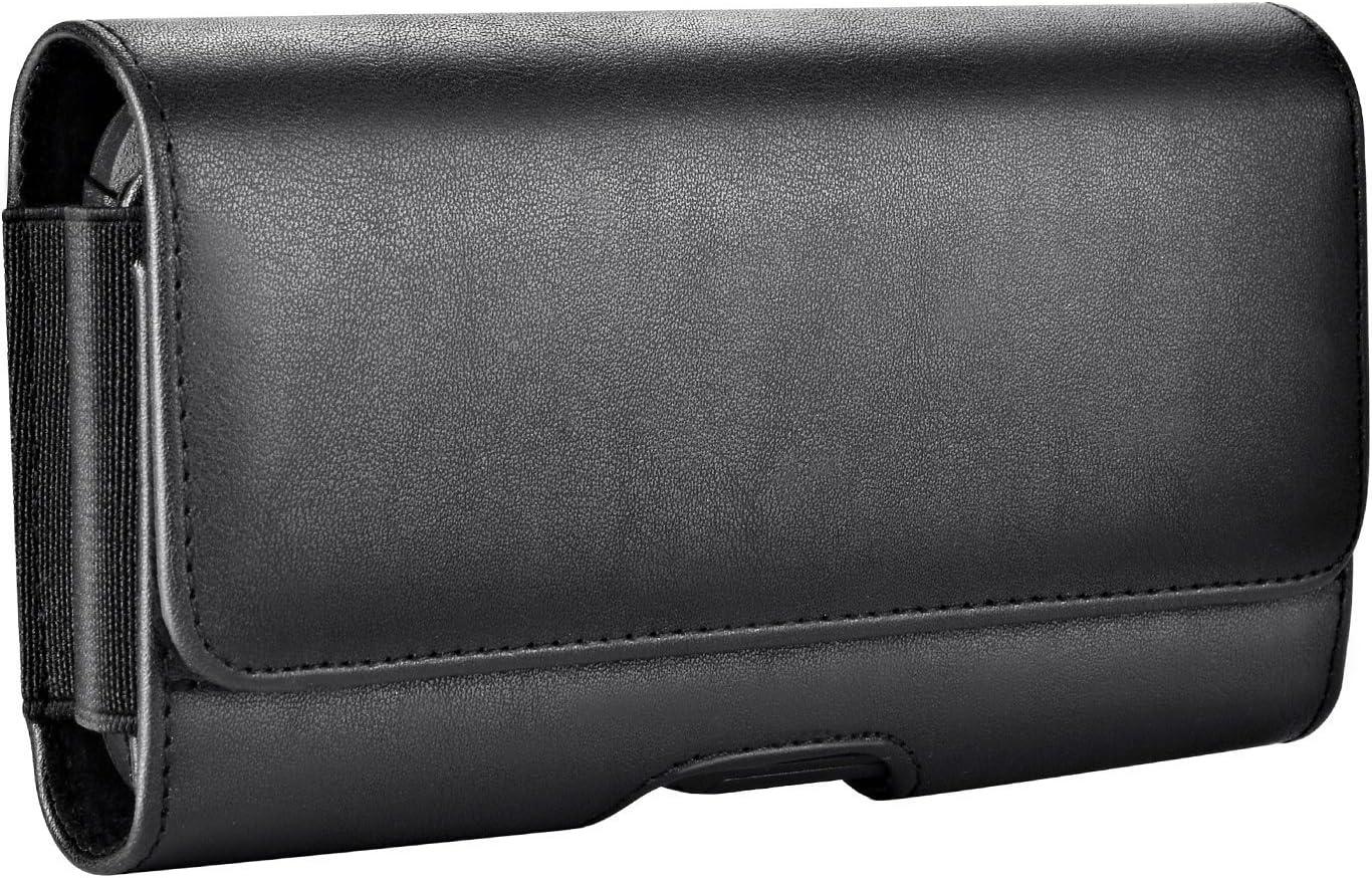 CAMPUS TELECOM Etui de Ceinture Housse Pochette Coque Universelle Compatible pour Huawei P30 Lite 6.15 Pouces