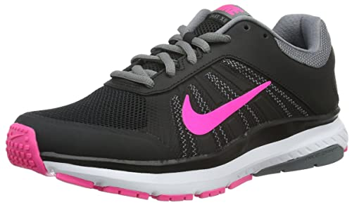 Nike Dart 12 Womens Shoes Black White Pink Blast-Cool Grey-Dark Grey ... b3127a6b9