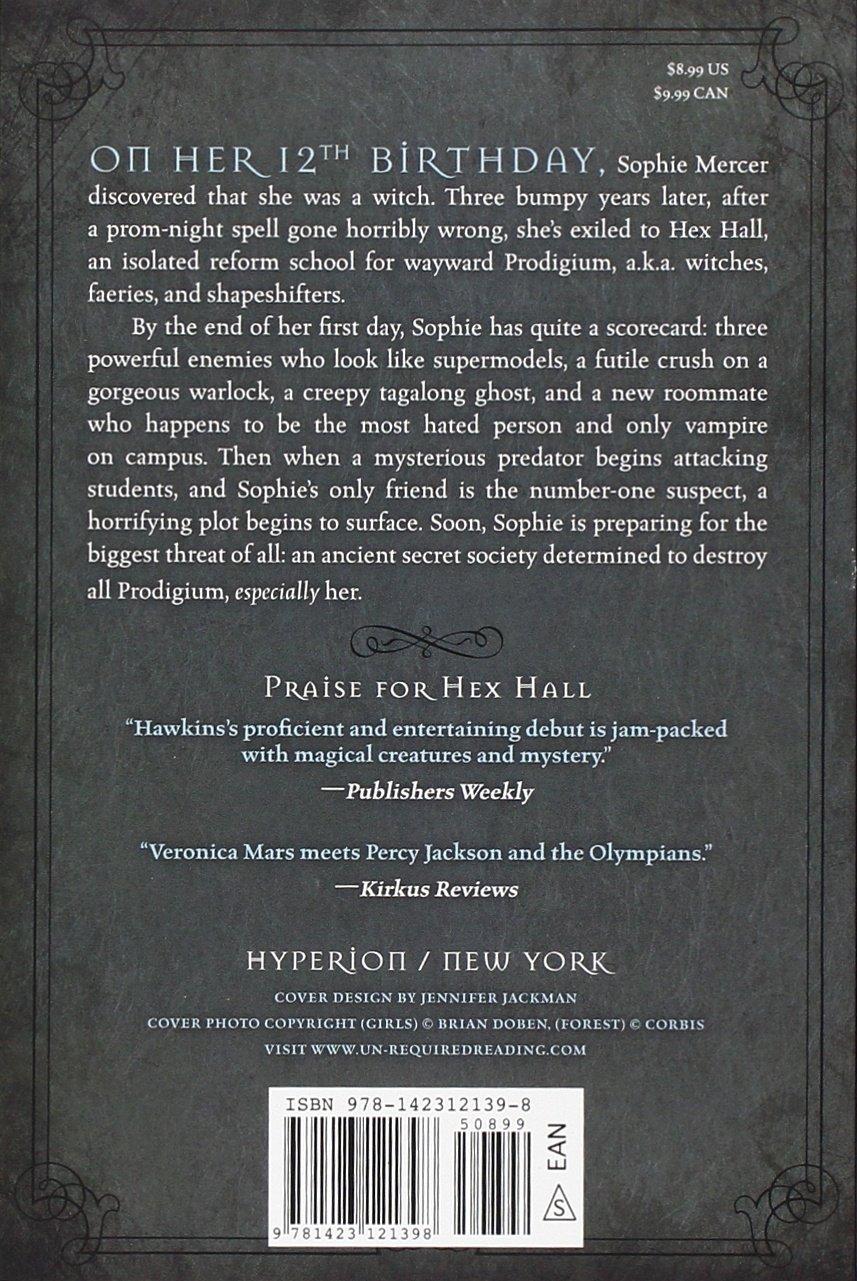 Hex Hall Book One (a Hex Hall Novel): Rachel Hawkins: 9781423121398:  Amazon: Books