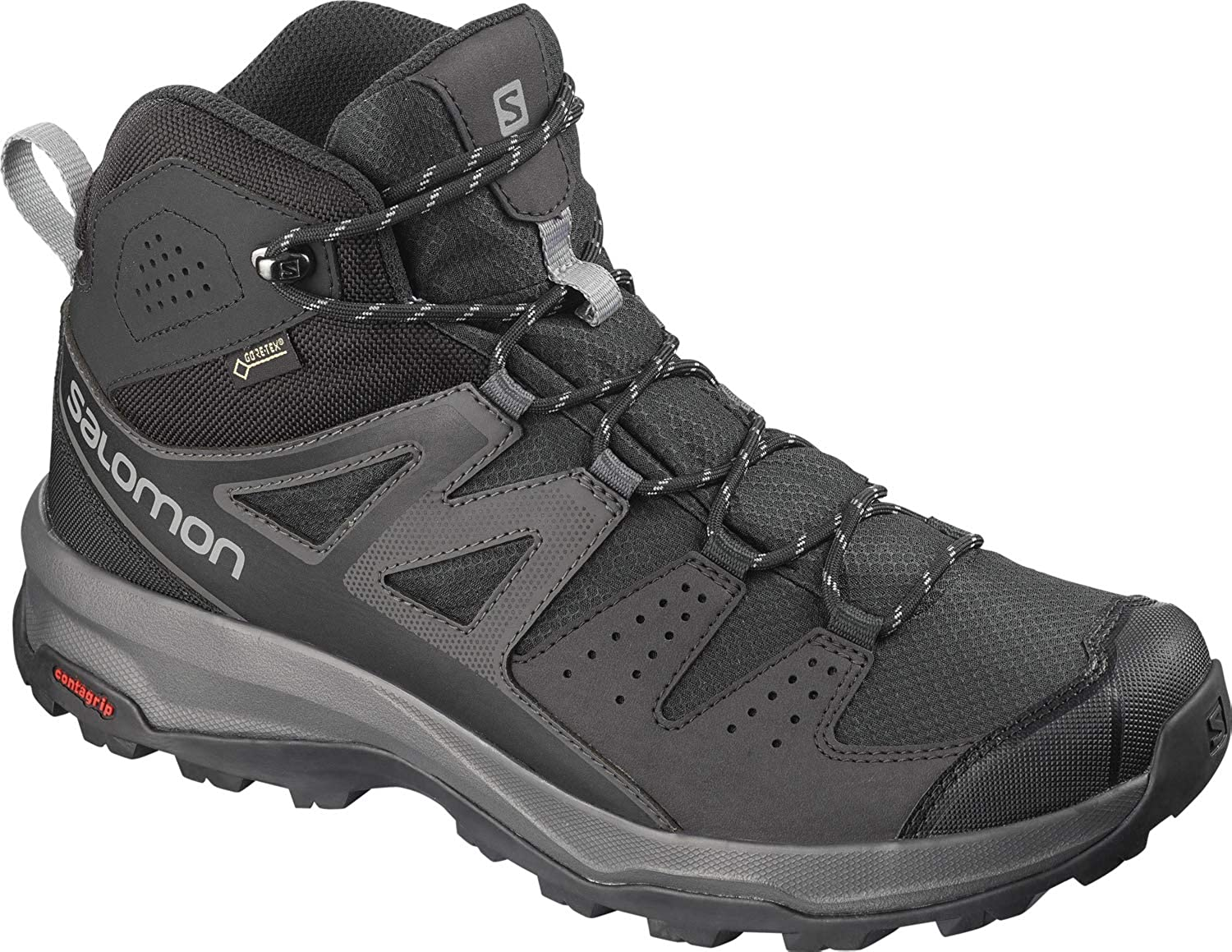salomon men's x ultra 3 mid gtx shoe review leather kit