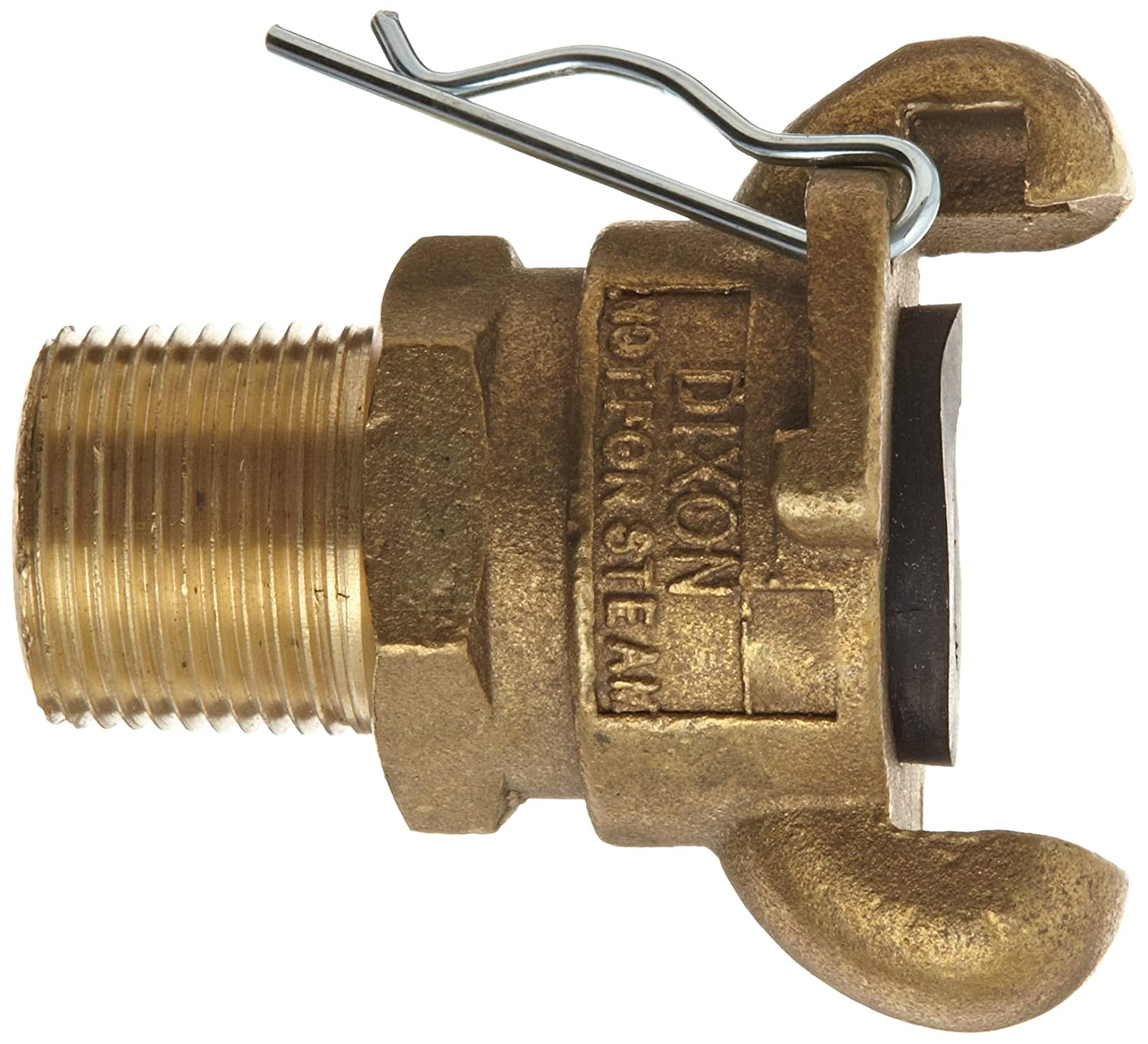 1 NPT Male Dixon Air King AB12 Brass Air Hose Fitting 2 Lug Universal Coupling