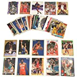 40 Basketball Hall-of-Fame & Superstar Cards Collection Including Players such as Michael Jordan, Magic Johnson, LeBron James