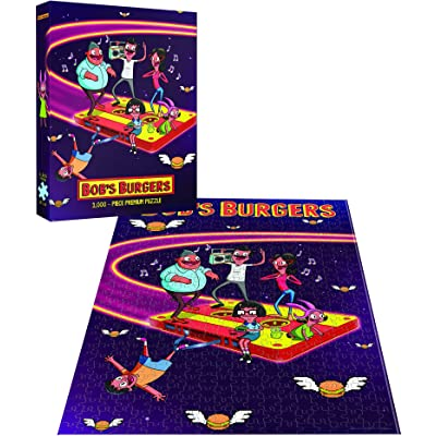 Bob's Burgers Belchers in Space Puzzle 1000 Premium Puzzle | Fox Bobs Burgers TV Show Collectable Jigsaw Puzzles: Toys & Games