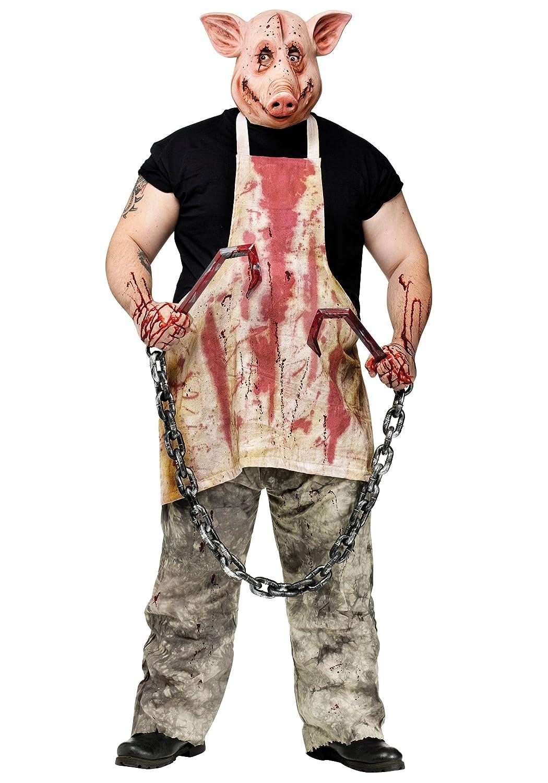 Amazon.com: FunWorld Mens Horror Casa Encantada sangriento ...