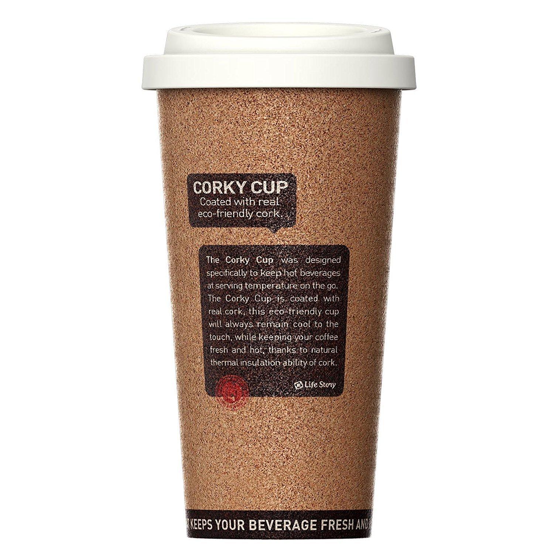 Life Story - Termos café, Frascos térmicos para Bebida, hermético y Inoxidable Botella, para Llevar sin BPA, para Bebidas Caliente o frío, ...