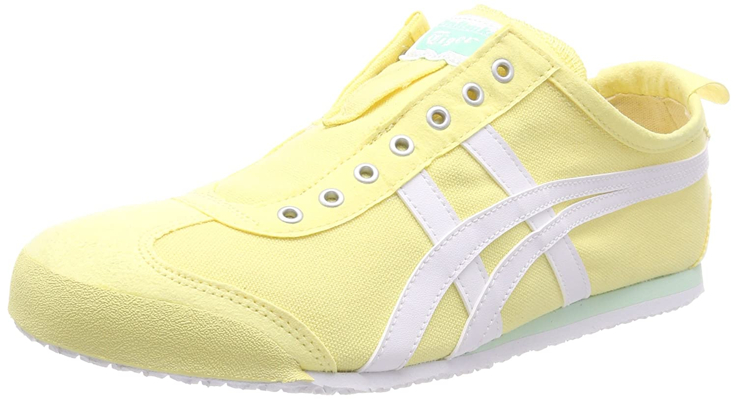 Asics Damen Onitsuka Tiger Mexico 66 MeringueWeiß Slip on