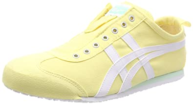 Asics Damen Onitsuka Tiger Mexico 66 Slip-on Sneaker, Rot (Cherry Tomato/White 0601), 41.5 EU