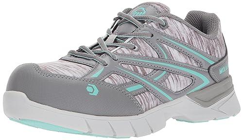 7921ea4e5ca Wolverine Women's Jetstream Athletic Composite Toe Work Shoe