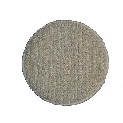 """Oreck Commercial 437053 Carpet Bonnet Orbiter Pad, 12"""" Diameter, For ORB550MC Orbiter Floor Machine: Industrial & Scientific"""