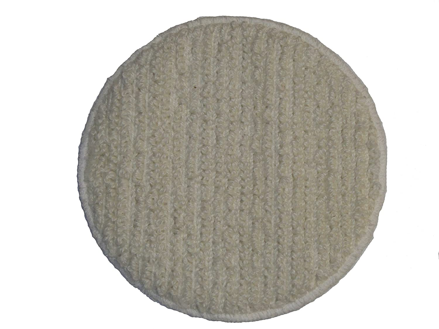 Oreck Commercial 437.053 Carpet Bonnet Pad, 12-Inch Diameter for 550MC Orbiter Floor Machine