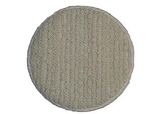 """Oreck Commercial 437053 Carpet Bonnet Orbiter Pad, 12"""" Diameter, For ORB550MC Orbiter Floor Machine"""