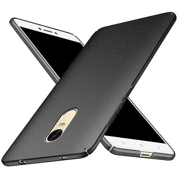 the best attitude 87298 bd022 Xiaomi Redmi Note 4/Note 4X Case, Almiao [Thin Fit] Minimalist Slim  Protective Phone Case Back Cover for Xiaomi Redmi Note 4/Note 4X (Black  gravel)
