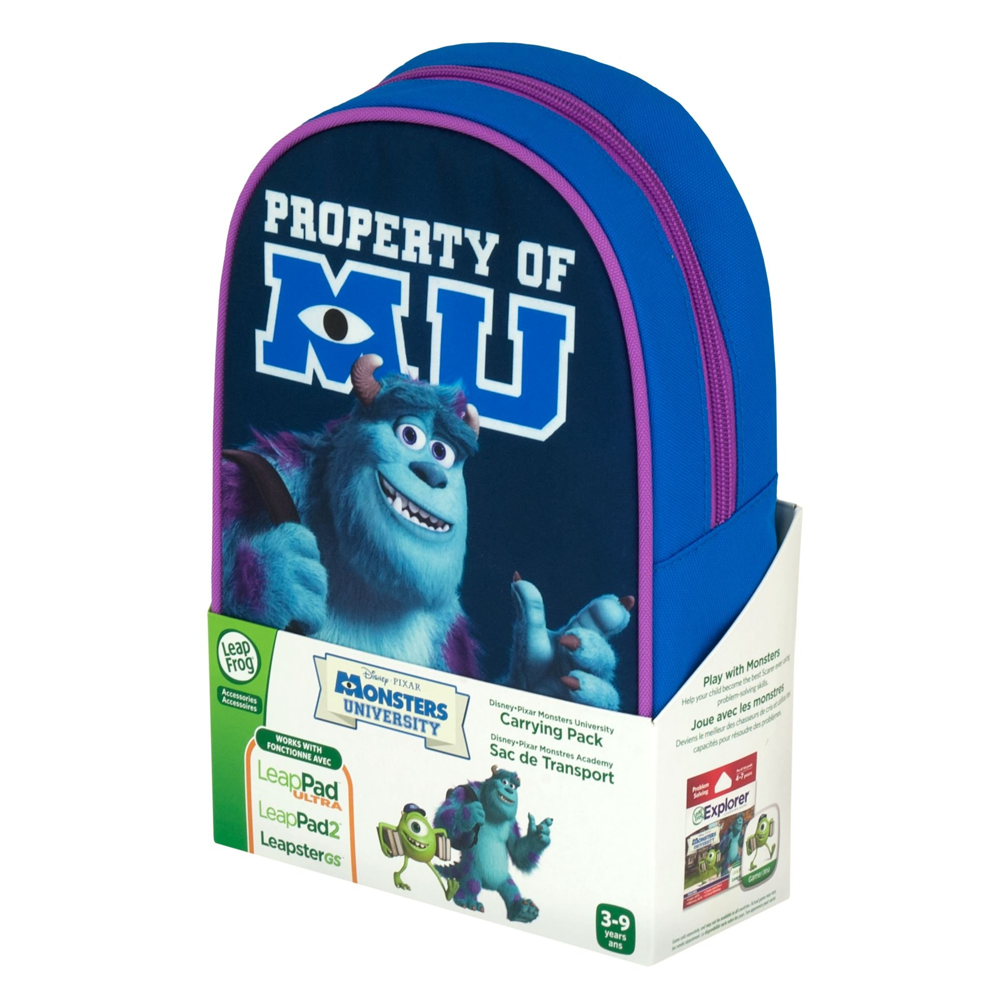 LeapFrog Disney Pixar Monsters University Carrying Pack by LeapFrog