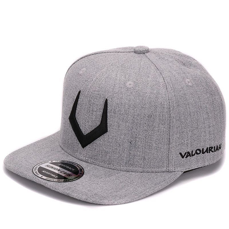 df01ab487 Amazon.com: grey wool snapback 3D pierced embroidery hip hop cap ...