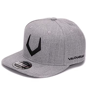 e2cc7d788b7e7 Amazon.com: grey wool snapback 3D pierced embroidery hip hop cap ...