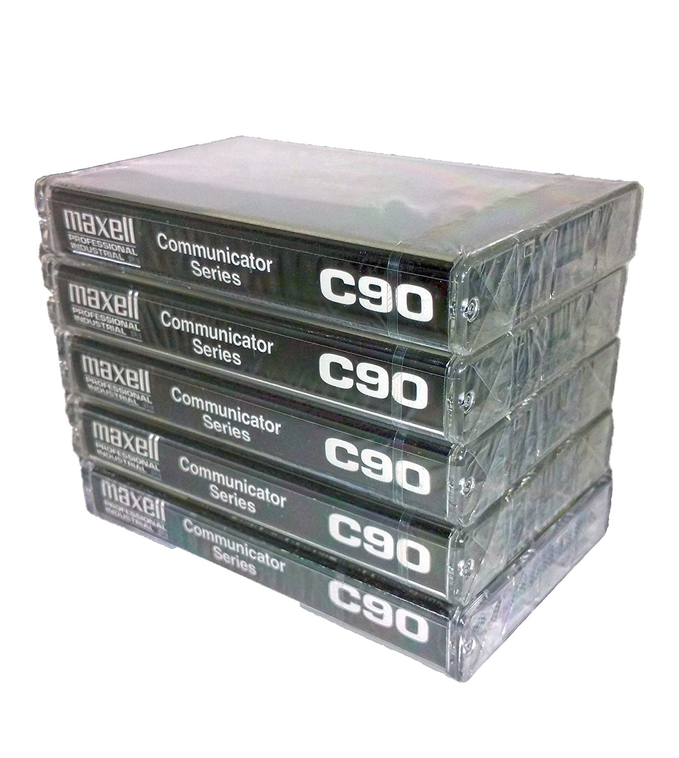 Maxell Professional Industrial Communicator Series C90 Audio Cassette Tapes - 5 Pack Maxell Corporation of America LYSB01B41AGGQ-ELECTRNCS