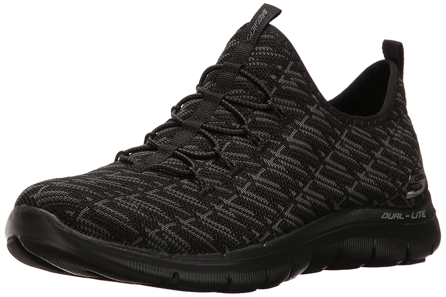 Skechers Women's Flex Appeal 2.0 Insight Sneaker B06XW8XSWJ 7.5|Black