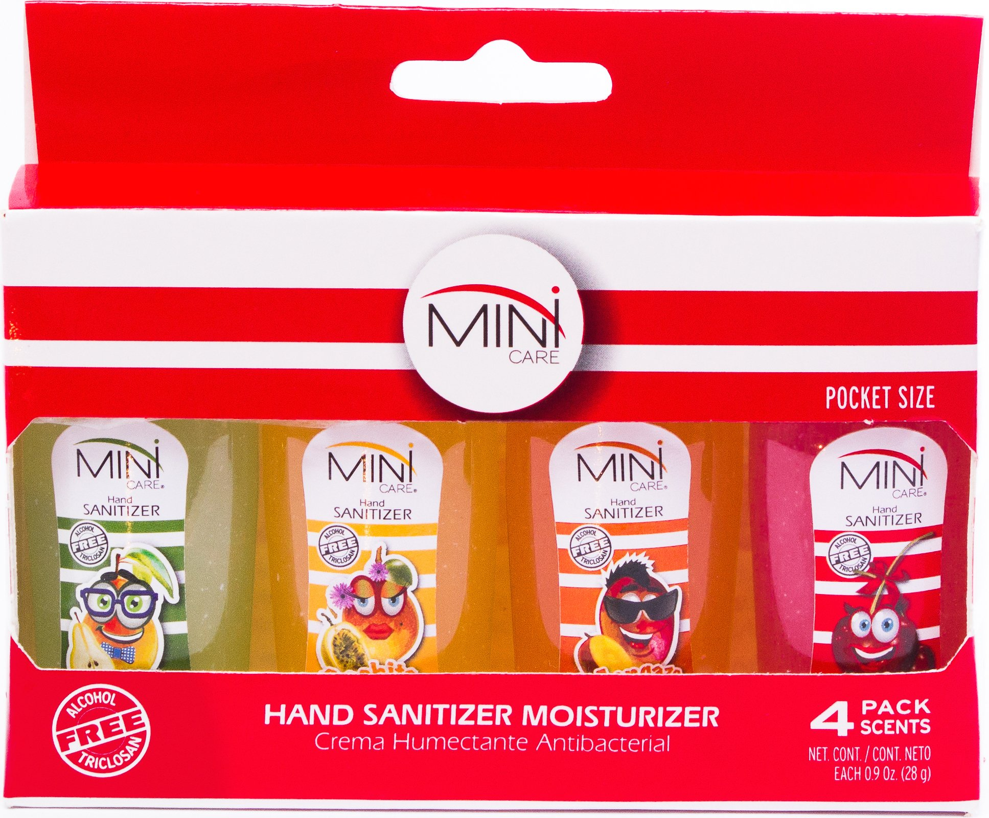 MINi Care Kids Specialized Hand Sanitizer for Kids Alcohol Free - Special Edition Box - (Case of 12) (MixW)