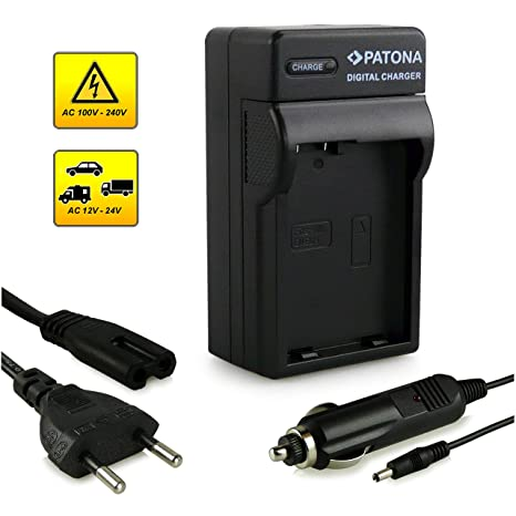 Patona - Cargador EN-EL14 para Nikon D3100/D3200/D5100/D5200 y ...