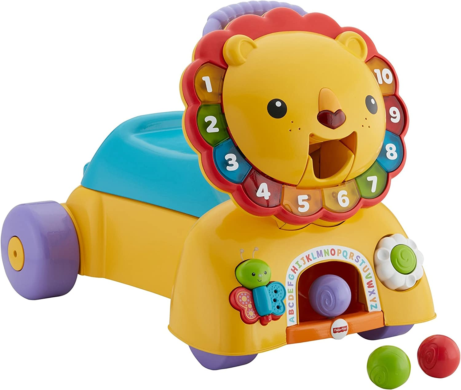 Amazon.com: Juguete Fisher-Price 3-en-1 león que ...