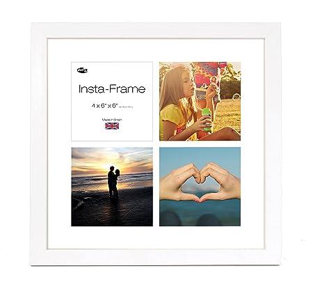 Inov8 16 x 16-Inch Insta-Frame Kayla Photo Frame for 4 Instagram ...