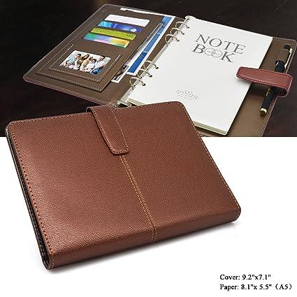 Amazoncom Leather Diary Eberry Classic Writing Notebook Retro