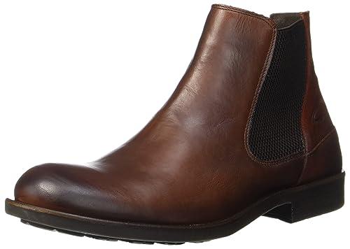 5bd8d571aa5c09 Camel Active Men s Check 13 Chelsea Boots