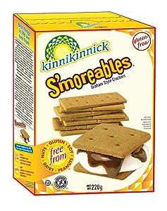 Kinnikinnick Gluten Free S'moreables Graham Style Crackers, 8 Ounce (Pack of 6)