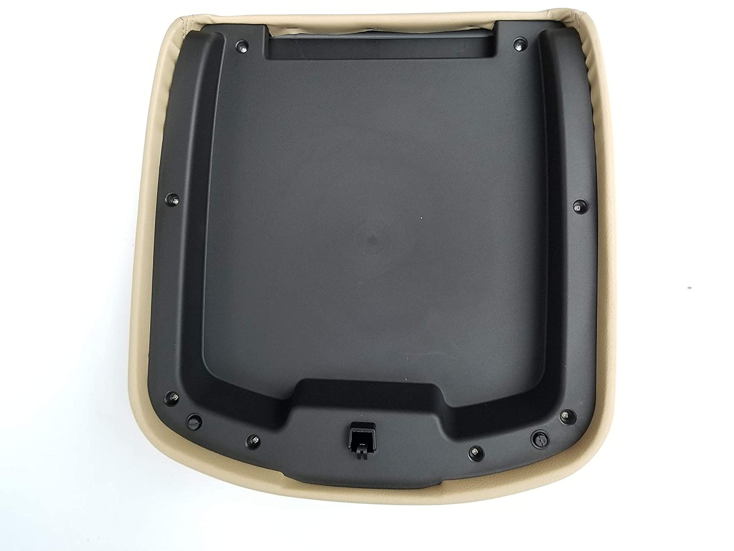 Beige Not just The Leather Part.The Whole armrest Cover is Included /… AutoPartClub Center Console Armrest Lid Cover for Tahoe Suburban Escalade 07-13