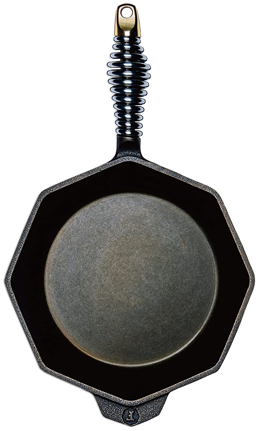 """FINEX - 8"""" Cast Iron Skillet, Modern Heirloom, Handcrafted in the USA, Pre-seasoned with Organic Flaxseed Oil"""