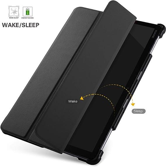 IVSO Funda Carcasa para Huawei MediaPad M5 Lite 10, Slim PU ...