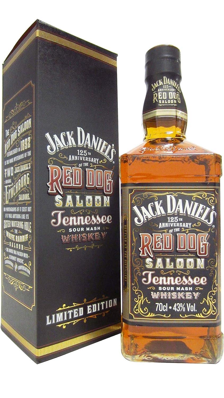 Jack Daniels - Red Dog Saloon 125th Anniversary Ltd Edition - Whisky: Amazon.es: Alimentación y bebidas