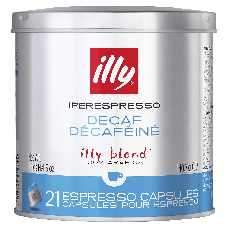 Illy Café Descafeinado - 140.7 gr: Amazon.es: Alimentación y bebidas