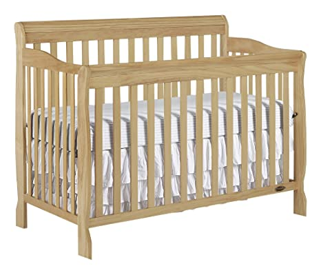 Dream On Me Ashton 5 in 1 Convertible Crib, Cuna, Natural, Una talla ...