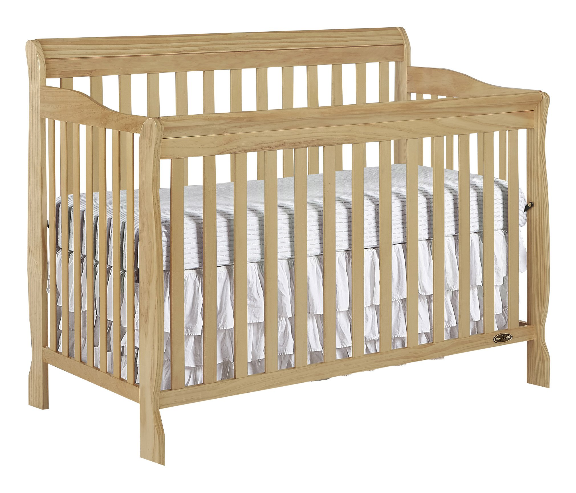 Dream On Me Ashton 5 in 1 Convertible Crib, Natural by Dream On Me (Image #1)