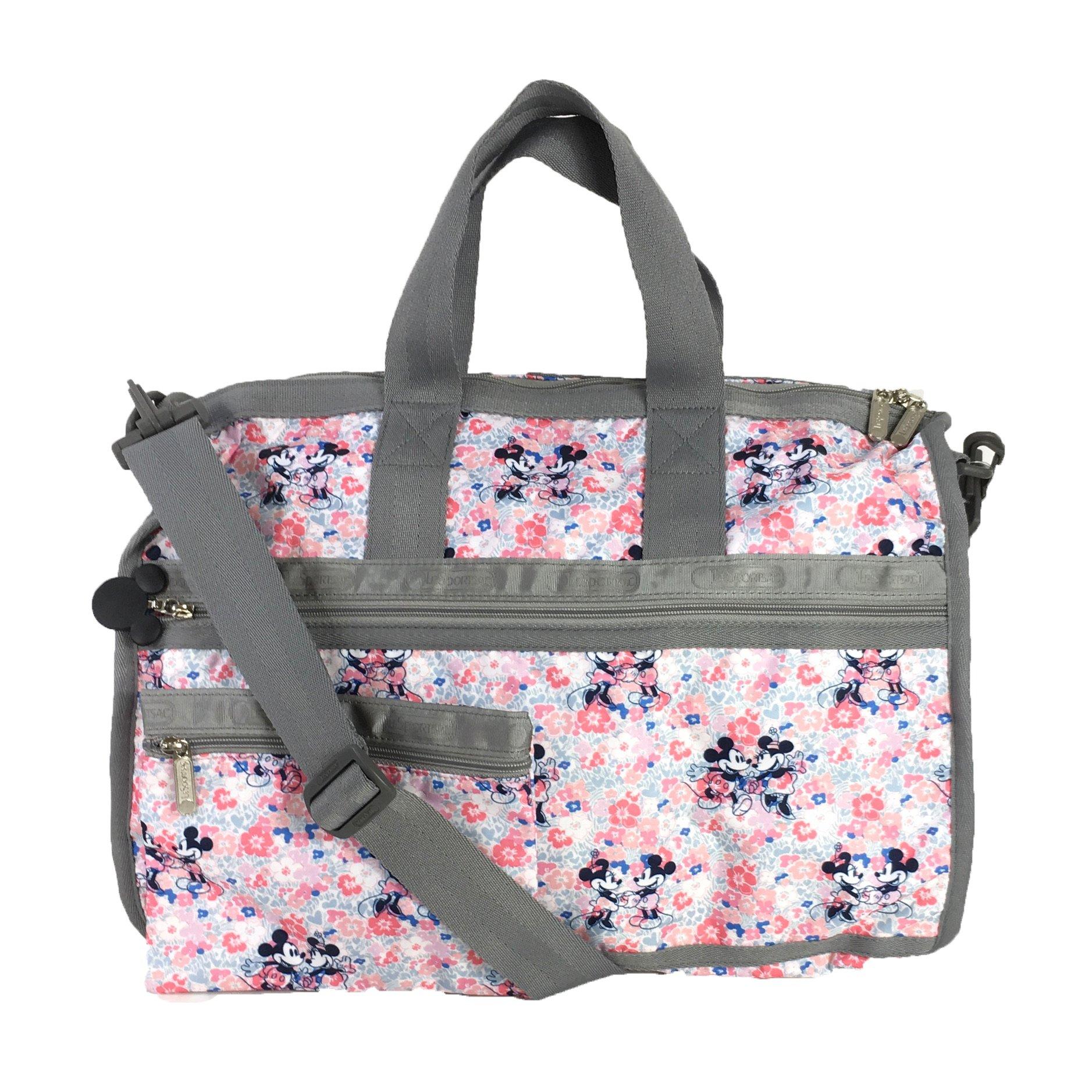 LeSportsac Disney Minnie Mouse Medium Weekender Duffel Bag, Spring Fling