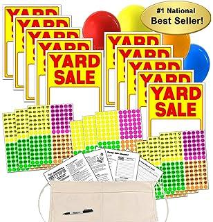 Pricing Yard Sale Clip Art