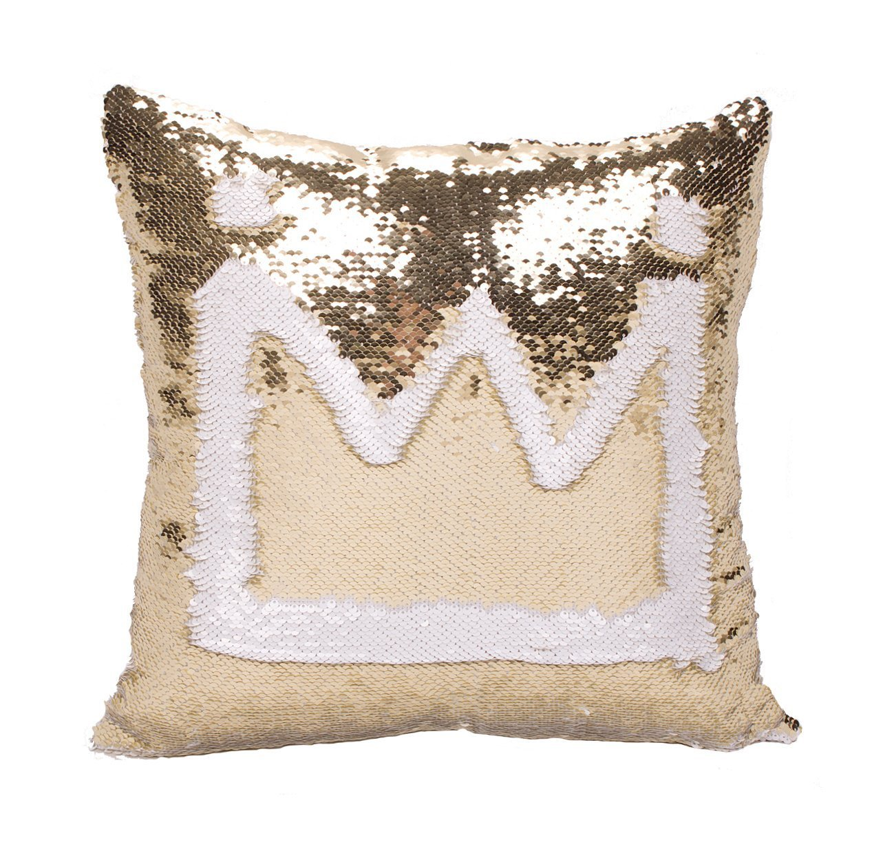 Idea Up Reversible Sequins Mermaid Pillow Cases 4040cm with magic mermaid sequin (black and silver) DianYu DYPOLLOWCOVER1600113