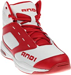 AND1 Mens Typhoon Mid Basketball Shoe