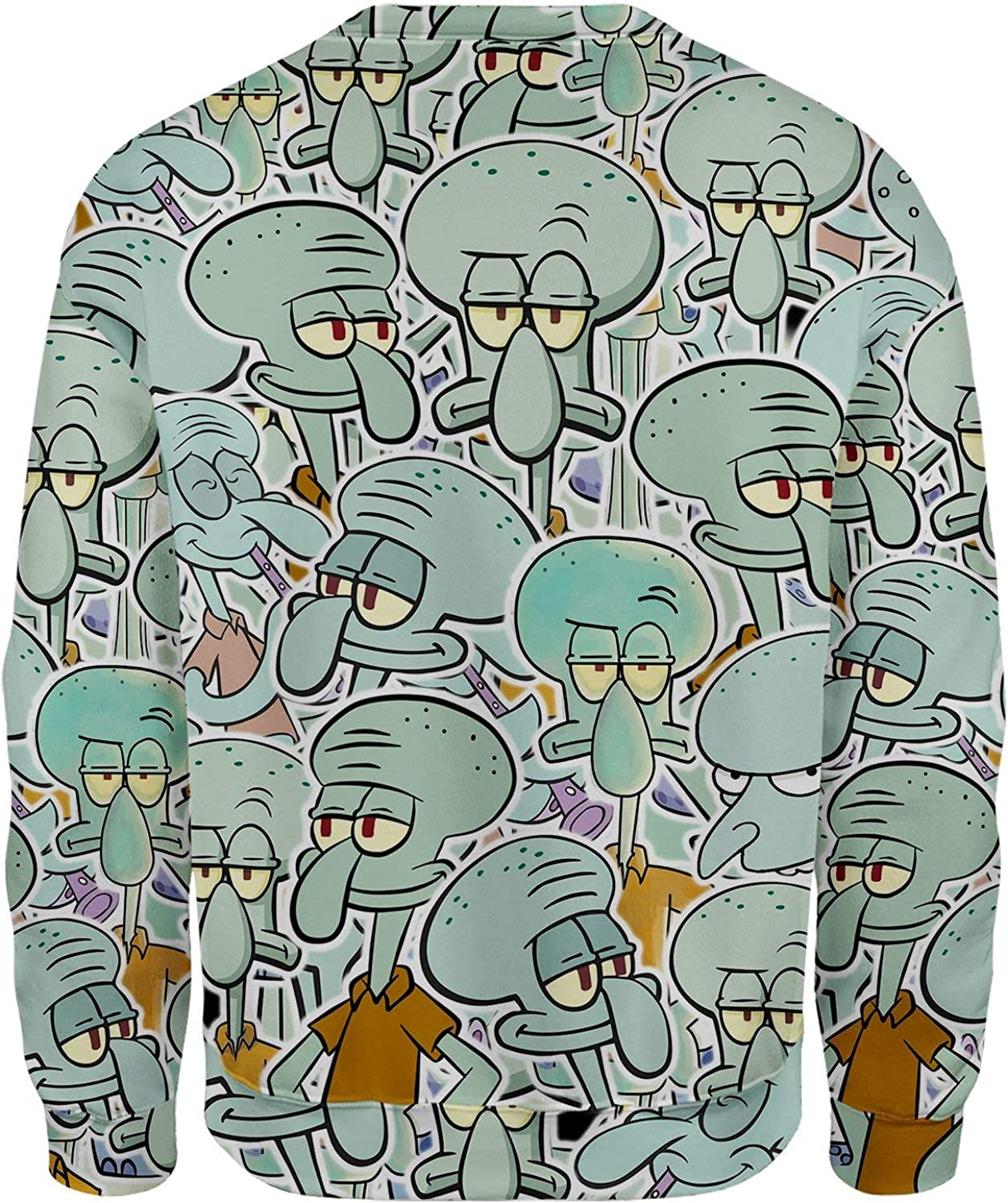 All Over Shirts Squidward Tentacles Sweatshirt