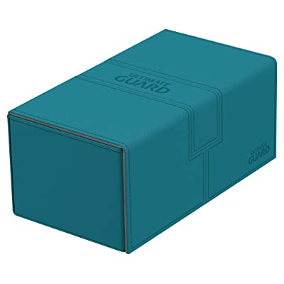 Ultimate Guard Deck Box Twin Flip N Tray Xenoskin 200 Case, Petrol: Toys & Games