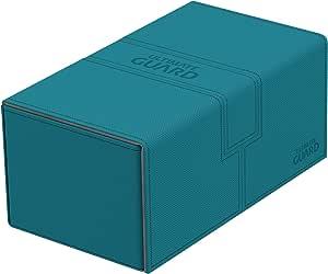 Ultimate Guard Twin Flip´n´Tray Deck Case 200+ Caja de Cartas Tamaño Estándar XenoSkin Gasolina Azul: Amazon.es: Juguetes y juegos
