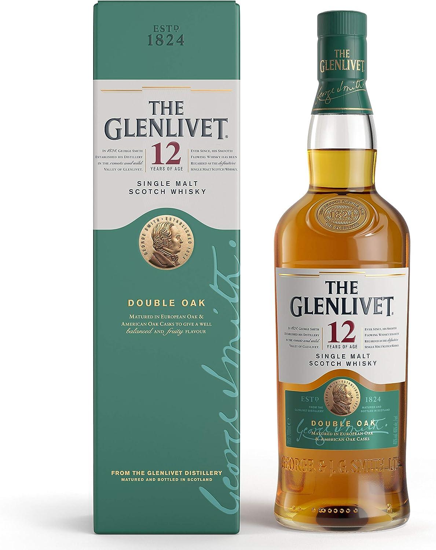 The Glenlivet The Glenlivet 12 Años Whisky Escocés De Malta Premium - 700 ml: Amazon.es: Alimentación y bebidas