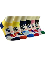 Sailor Moon Women's Socks 6pairs