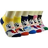 Women Girl's Lovely Cartoon Casual Socks