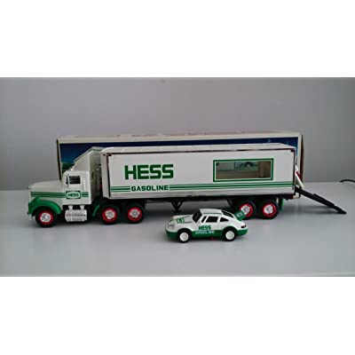 Hess Truck-18 Wheeler and Racer-1992 [Toys & Games] Holiday Gifts: Toys & Games