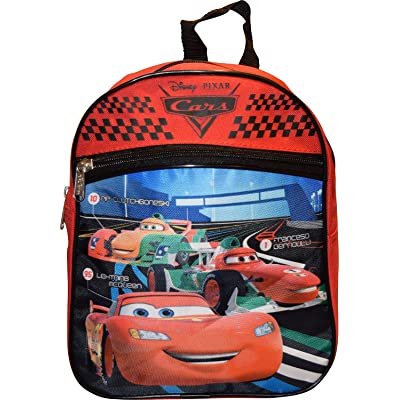 Disney Cars Red 10 inch Mini Backpack AO4011 | Kids' Backpacks